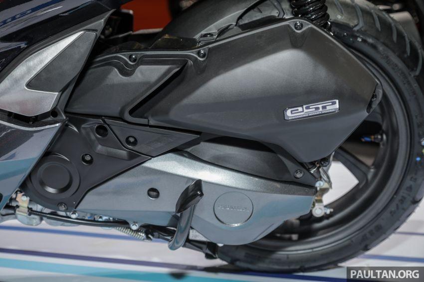 Hệ truyền động kết hợp giữa động cơ xăng 150cc và mô tơ điện