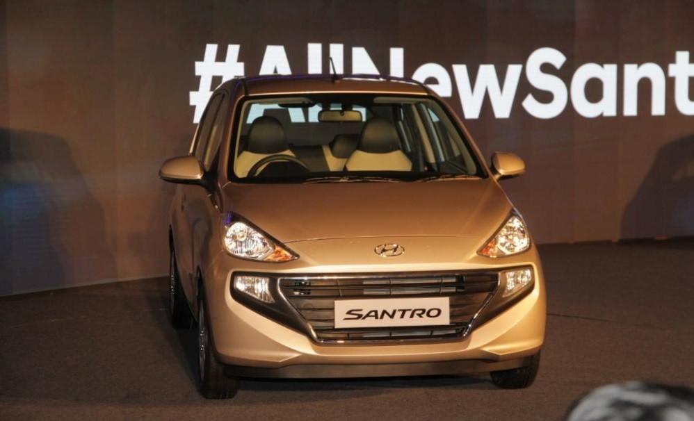 Hyundai Santro 2019 được trang bị lưới tản nhiệt Cascading Grille