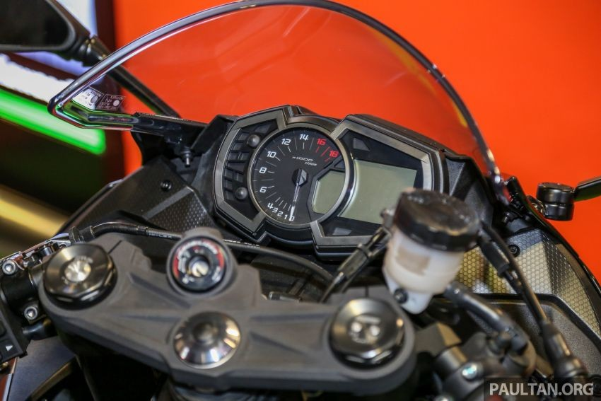 Đồng hồ Kawasaki Ninja ZX-6R