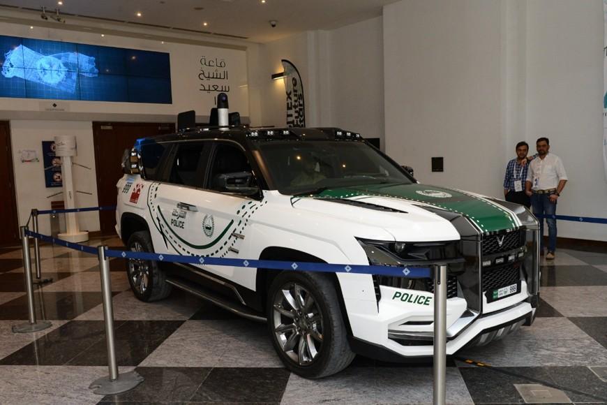Giath là cái tên mới nhất được bổ sung vào đội xe cực hiếm của cảnh sát Dubai