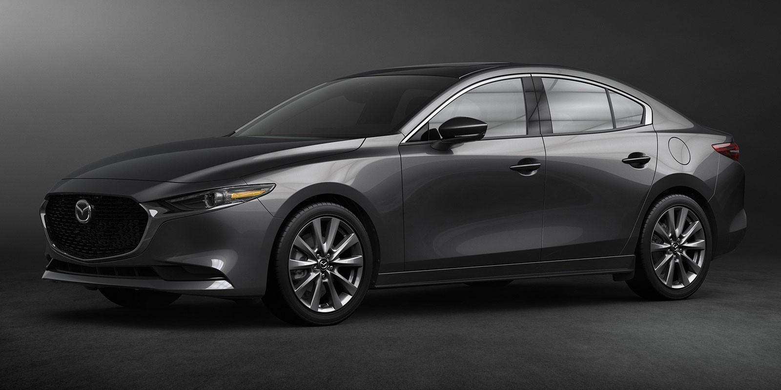 Màu xám Polymetal Grey dành riêng cho Mazda3 Sedan 2019