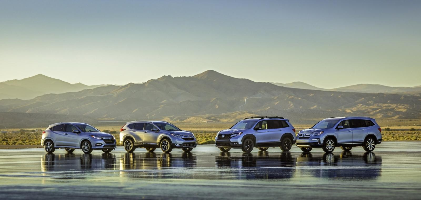 4 mẫu crossover hiện đang được bán tại Mỹ của Honda