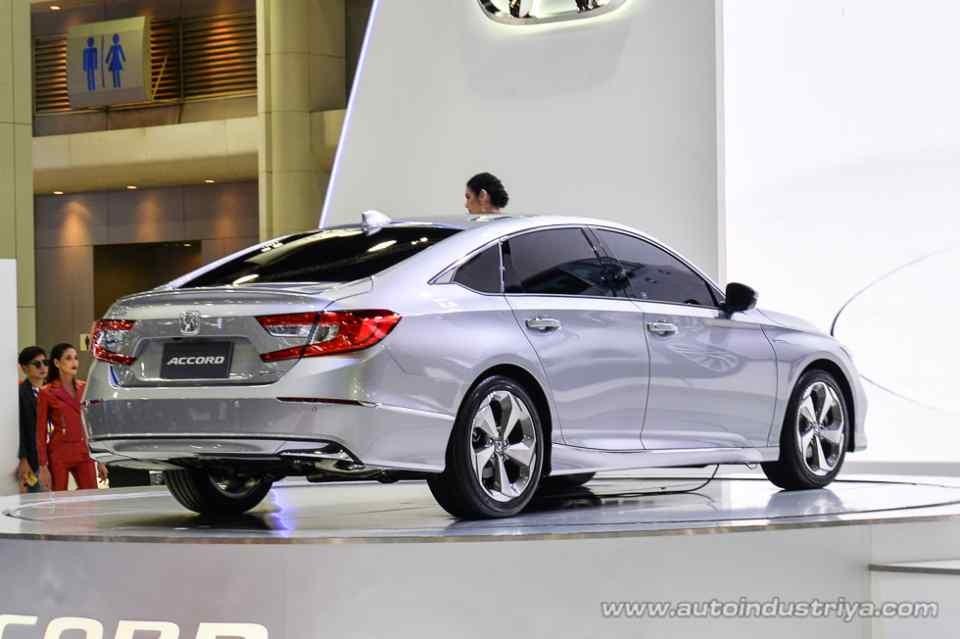 Honda Accord 2019 tại thị trường Thái Lan có cả phiên bản hybrid