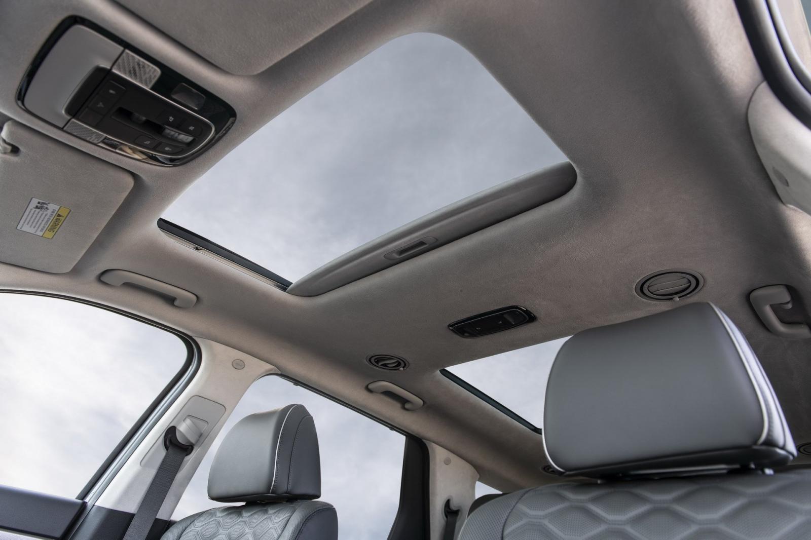 2 cửa sổ trời khá rộng của Hyundai Palisade 2020