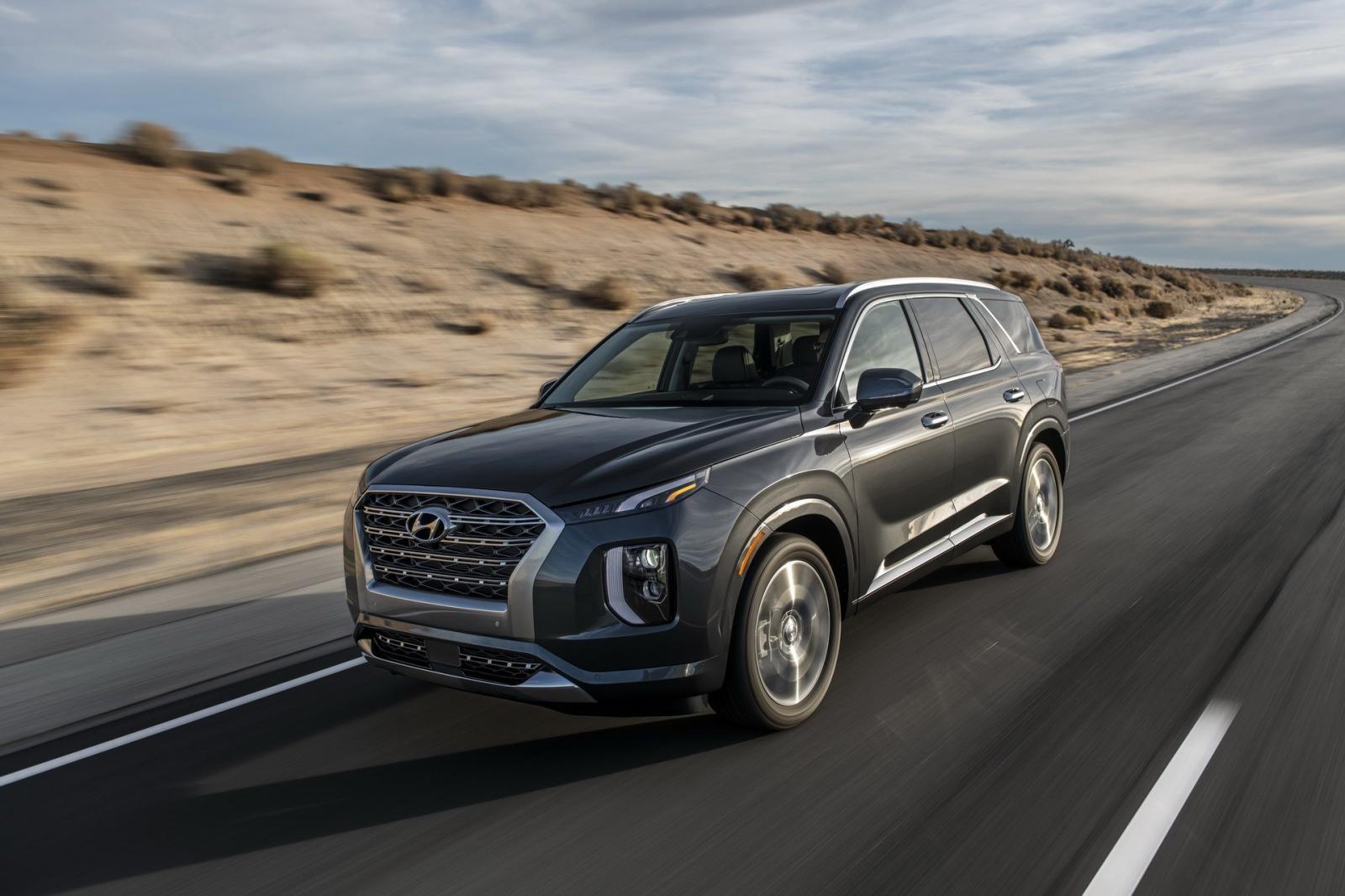 Hyundai Palisade 2020 có nhiều tính năng an toàn hiện đại