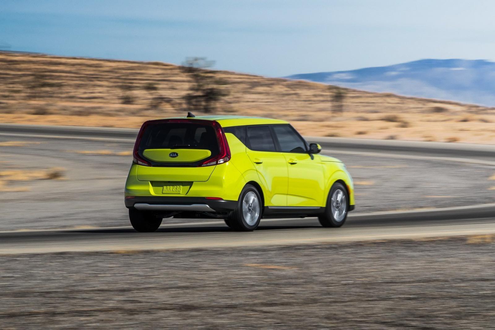 Kia Soul EV 2020 có 4 chế độ lái khác nhau
