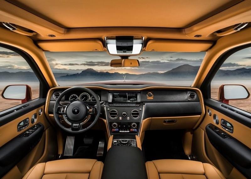 Nội thất Rolls-Royce Cullinan