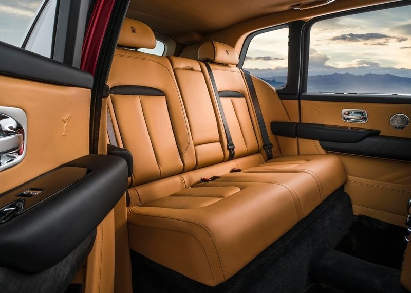 Nội thất Rolls-Royce Cullinan với tuỳ chọn 5 ghế ngồi