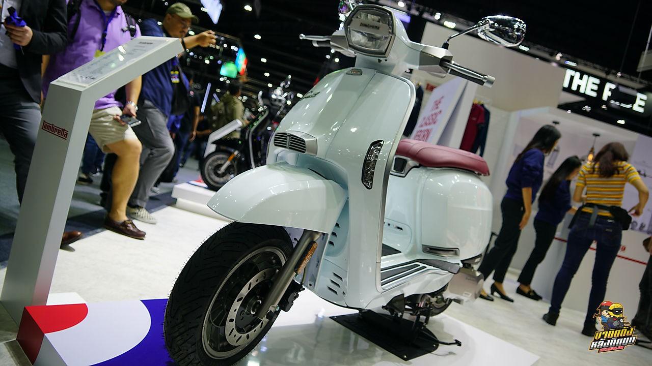 Lambretta V-Special được ra mắt tại Thái Lan phiên bản màu trắngxinh đẹp