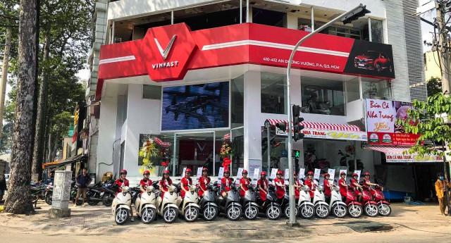 Showroom Vinfast của Maxmotor tại Sài Gòn