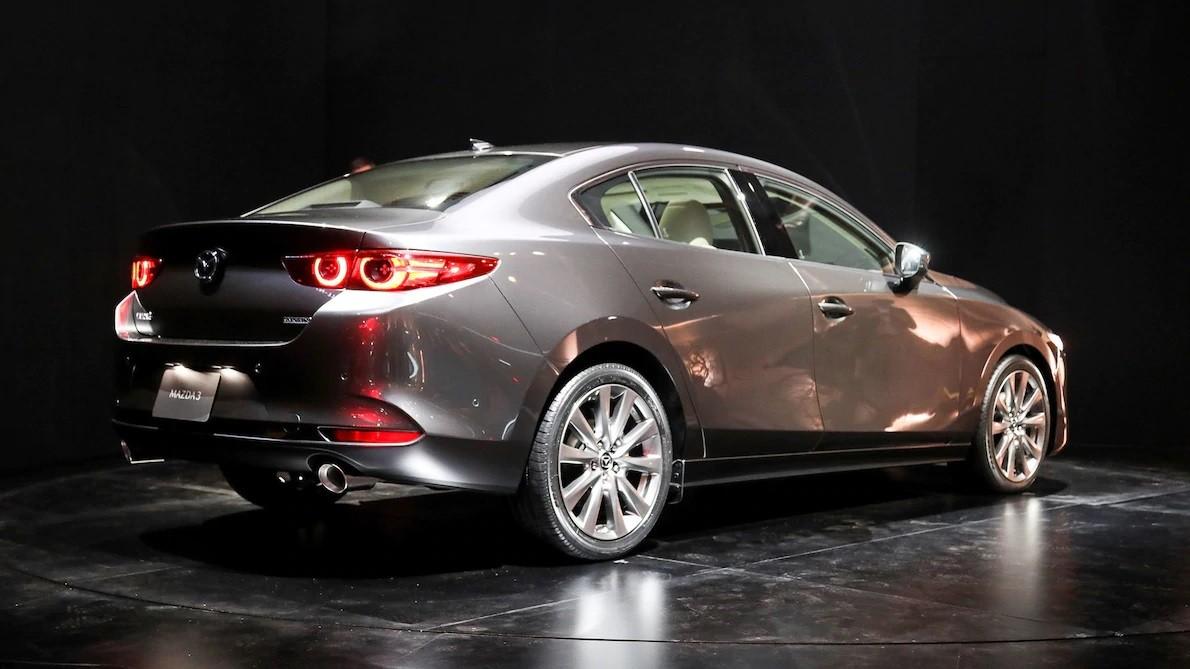Thiết kế sườn xe của Mazda3 Sedan 2019