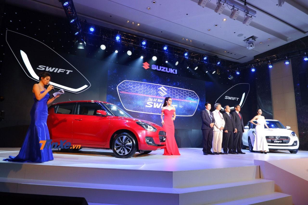 Suzuki Swift 2018 chính thức ra mắt Việt Nam tại sự kiện ở Hà Nội