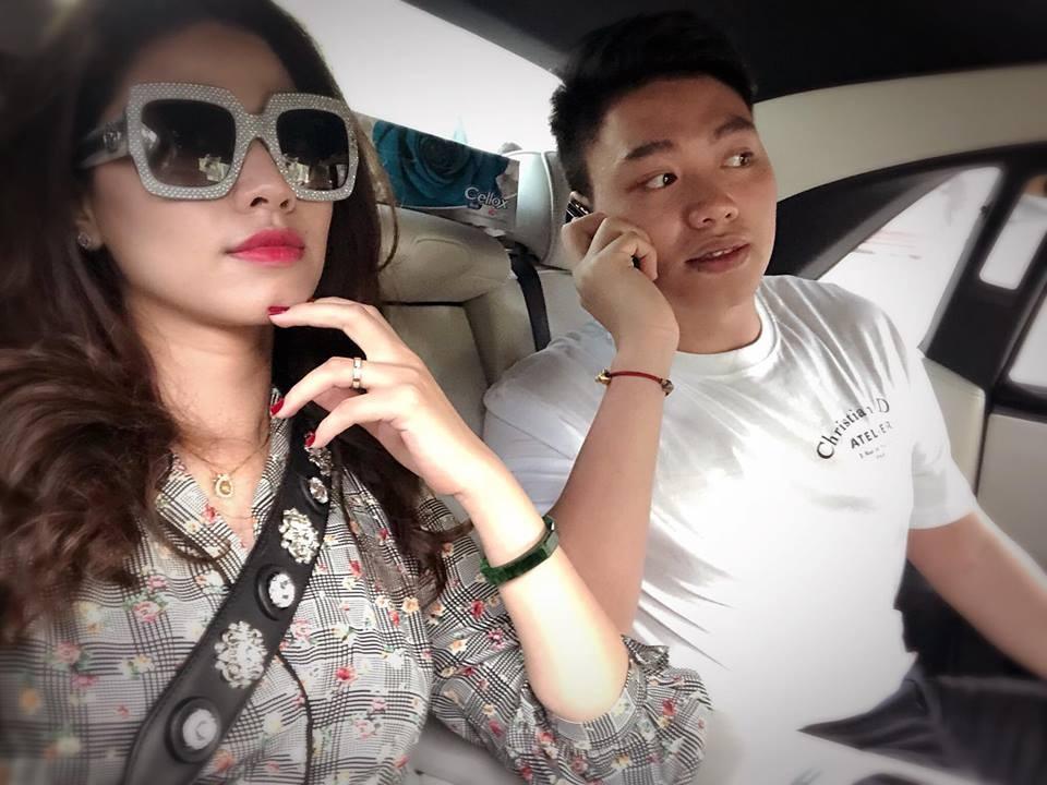 MC Ngọc Trinh và em trai Bảo Hưng