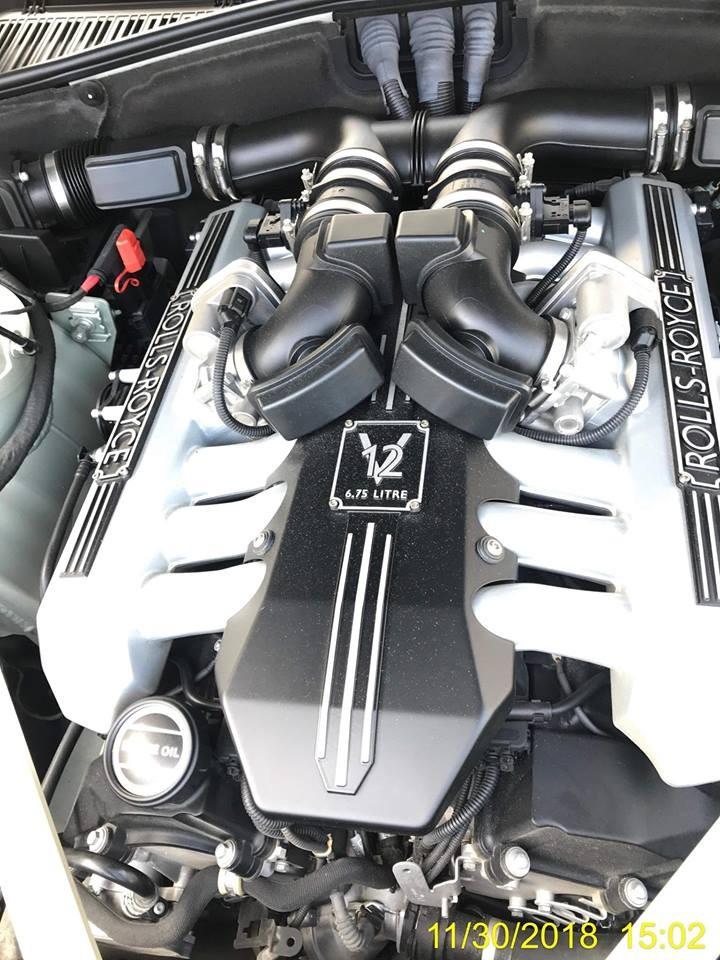 Rolls-Royce Phantom Series II vẫn được trang bị khối động cơ V12, dung tích 6.75 lít