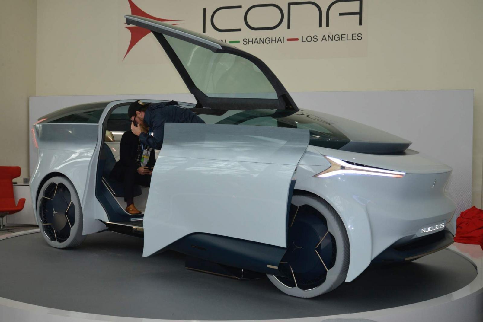 Xe concept Icona Nucleus được trưng bày ở Triển lãm Ô tô Los Angeles 2018