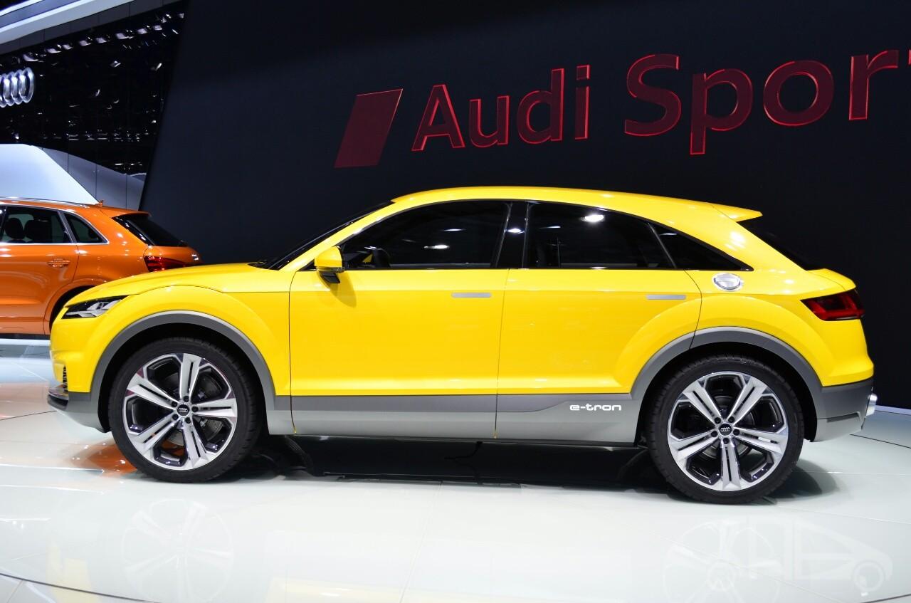 Audi Q4 sẽ có kích thước lớn hơn các đối thủ cùng phân khúc
