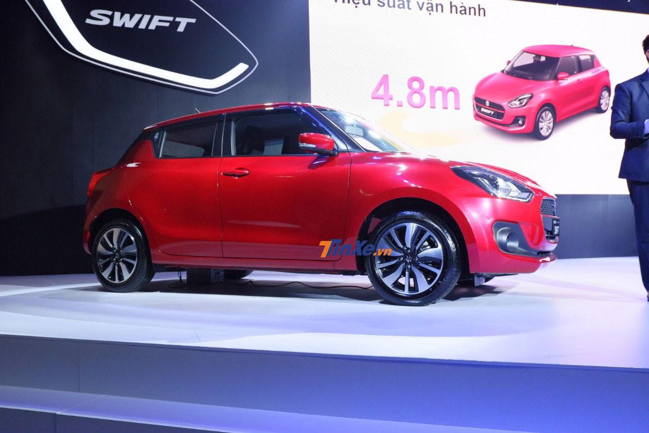 Cảm nhận nhanh Suzuki Swift 2018