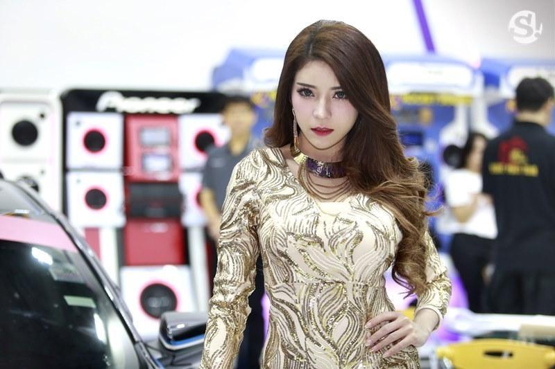 Điểm mặt những người mẫu xinh nhất, quyến rũ nhất Thai Motor Expo 2018 - 16