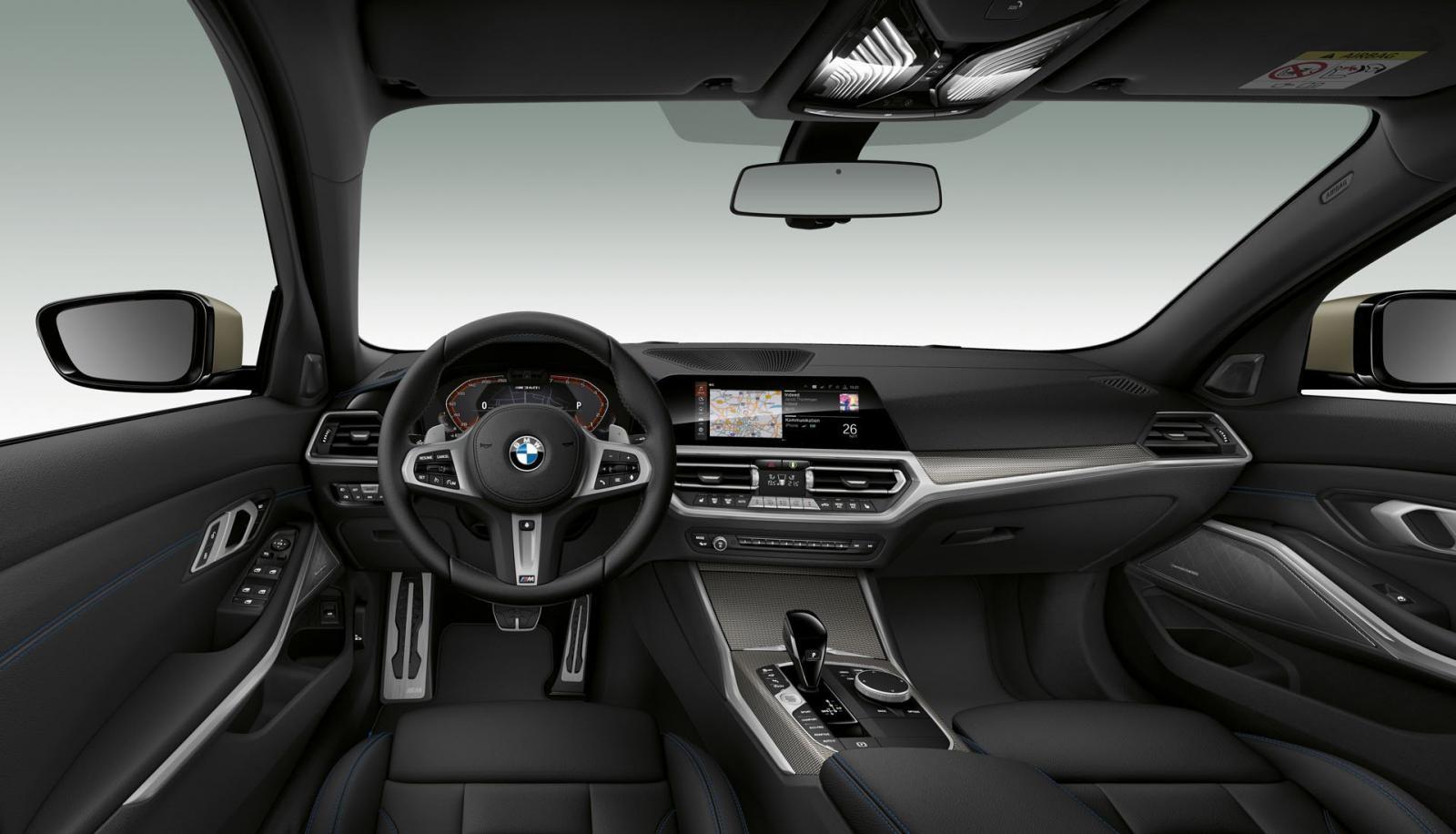 Nội thất BMW M340i 2019 hướng đến sự tối giản nhưng vẫn rất tinh tế