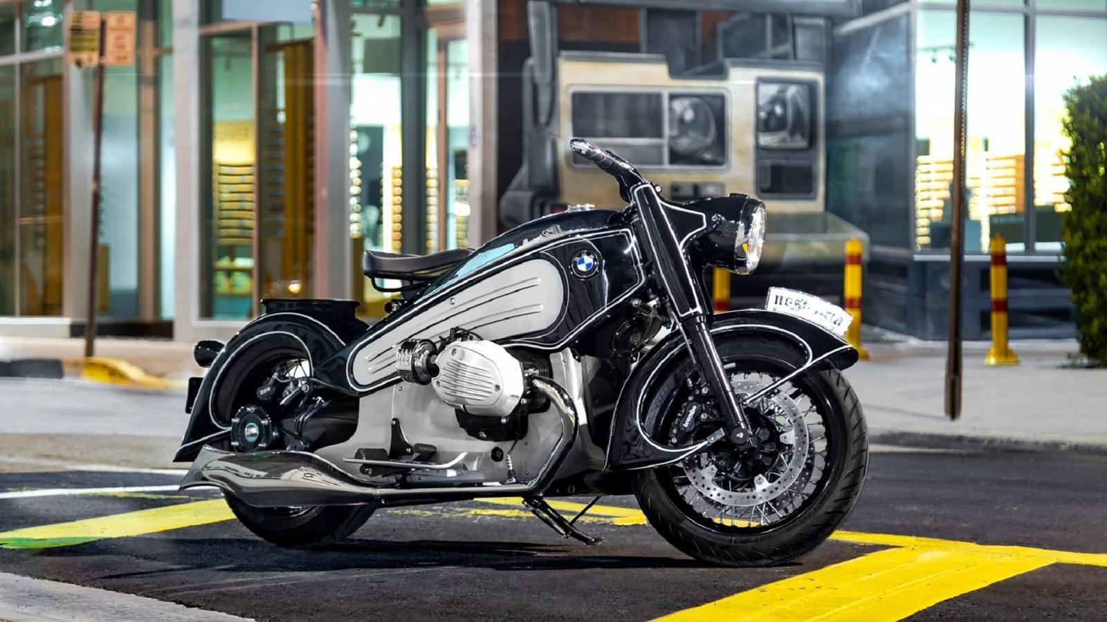 NMoto Nostalgia phát triển dựa trên mẫu BMW R nineT