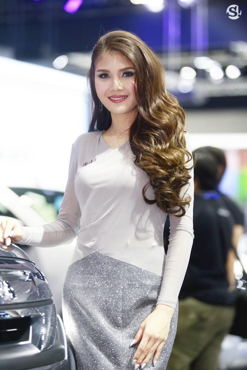 Chùm ảnh tóm gọn những người đẹp quyến rũ ở Thai Motor Expo 2018 - 10