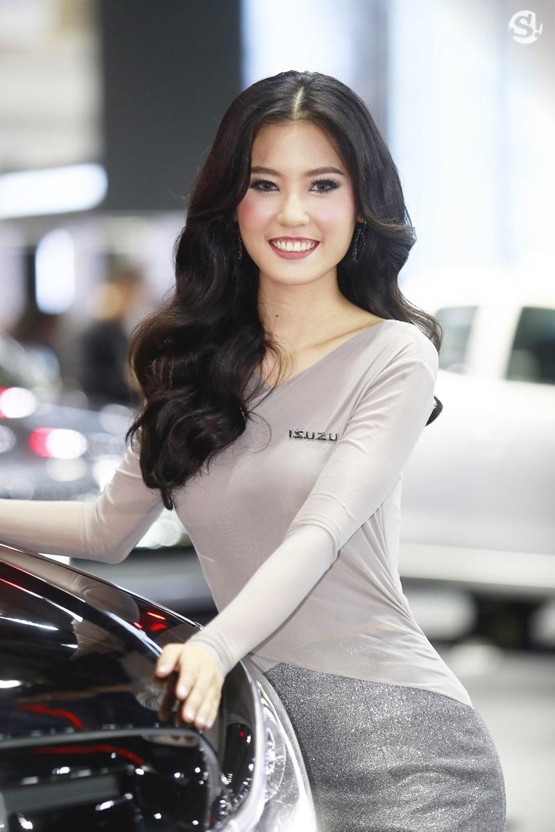Chùm ảnh tóm gọn những người đẹp quyến rũ ở Thai Motor Expo 2018 - 9