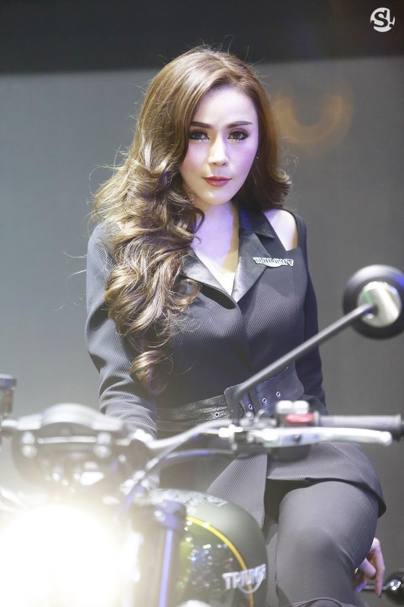 Chùm ảnh tóm gọn những người đẹp quyến rũ ở Thai Motor Expo 2018 - 5