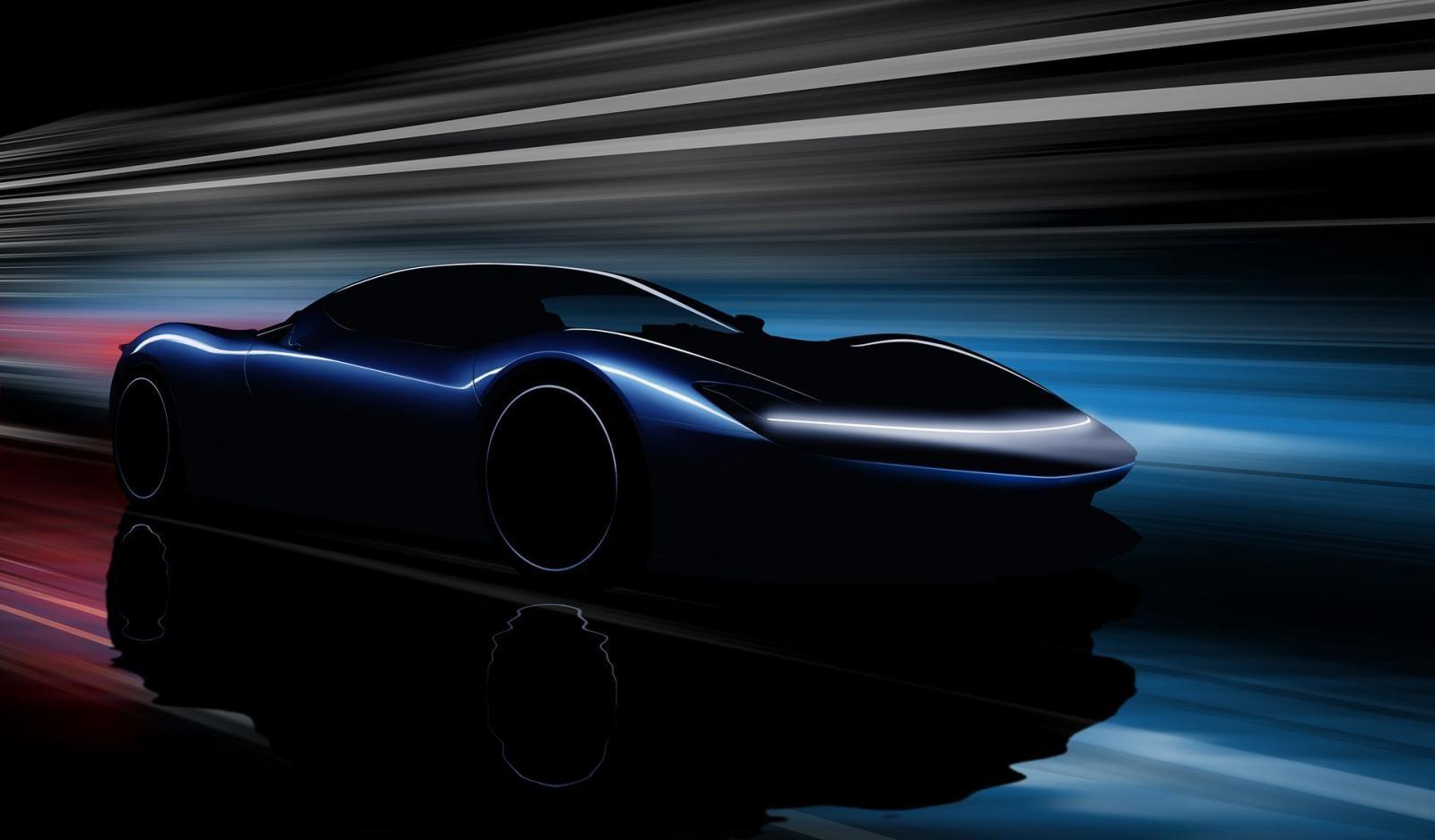 Hình ảnh úp mở mới nhất về hypercar Pininfarina PF0