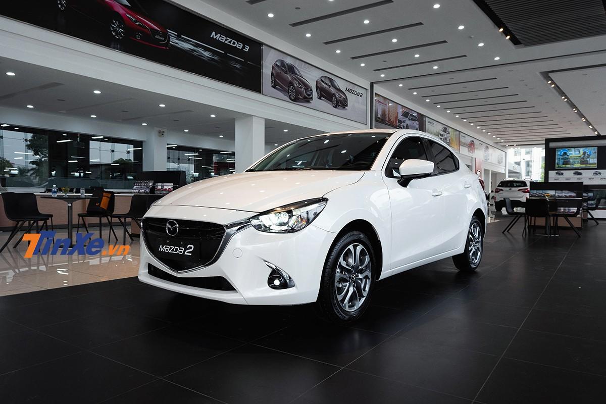 Mazda2 2018 mới ra mắt Việt Nam dưới dạng xe nhập khẩu nguyên chiếc từ Thái Lan