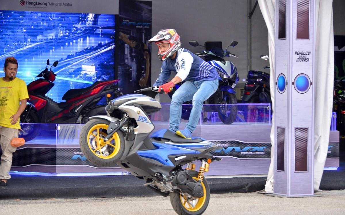 Yamaha NVX là mẫu xe tay ga thể thao cá tính