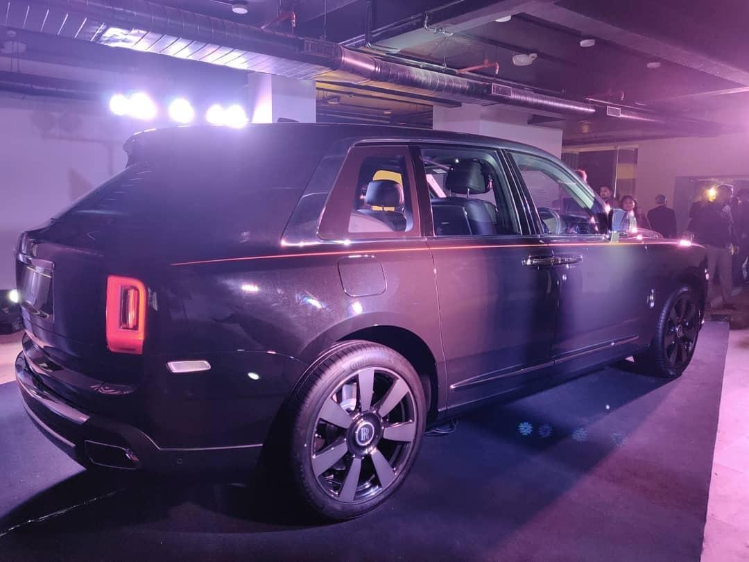 Hiện đã có 3 đơn đặt hàng chính hãng cho mẫu xe Rolls-Royce Cullinan tại Ấn Độ