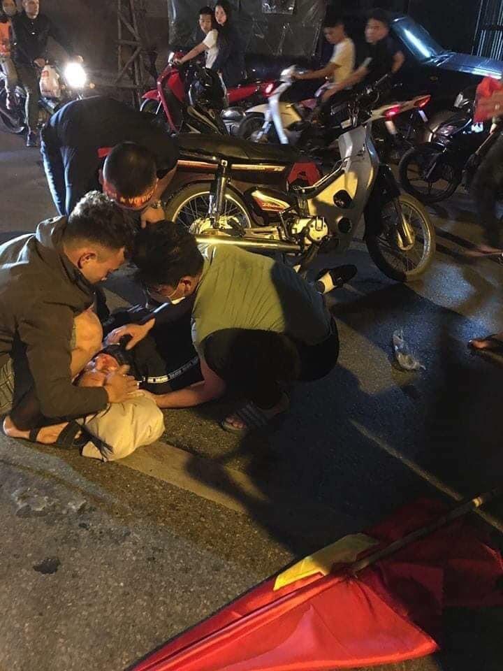 Một vụ tai nạn khác xảy ra tại Hà Nội