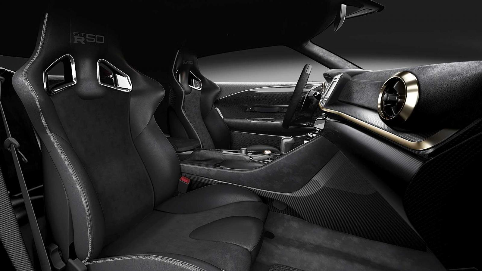 Ghế thể thao của Nissan GT-R50