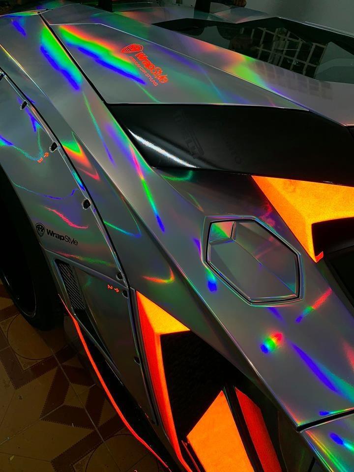 Bộ áo độc đáo trên Lamborghini Aventador Limited Edition 50