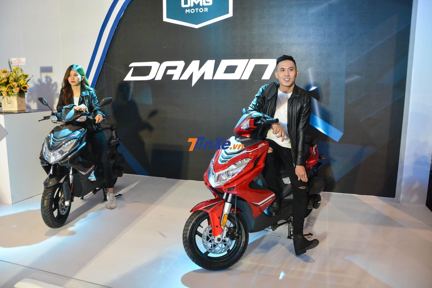UMG Motor Damon 125cc là mẫu xe ga mới toanh trong phân khúc 125 phân khối