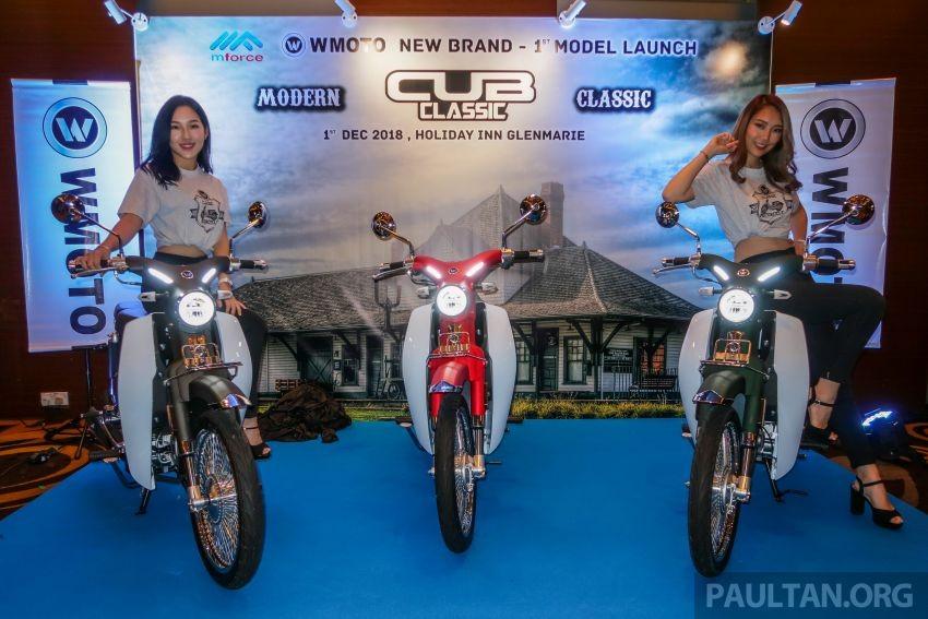 WMoto Cub Classic chính thức ra mắt tại Malaysia