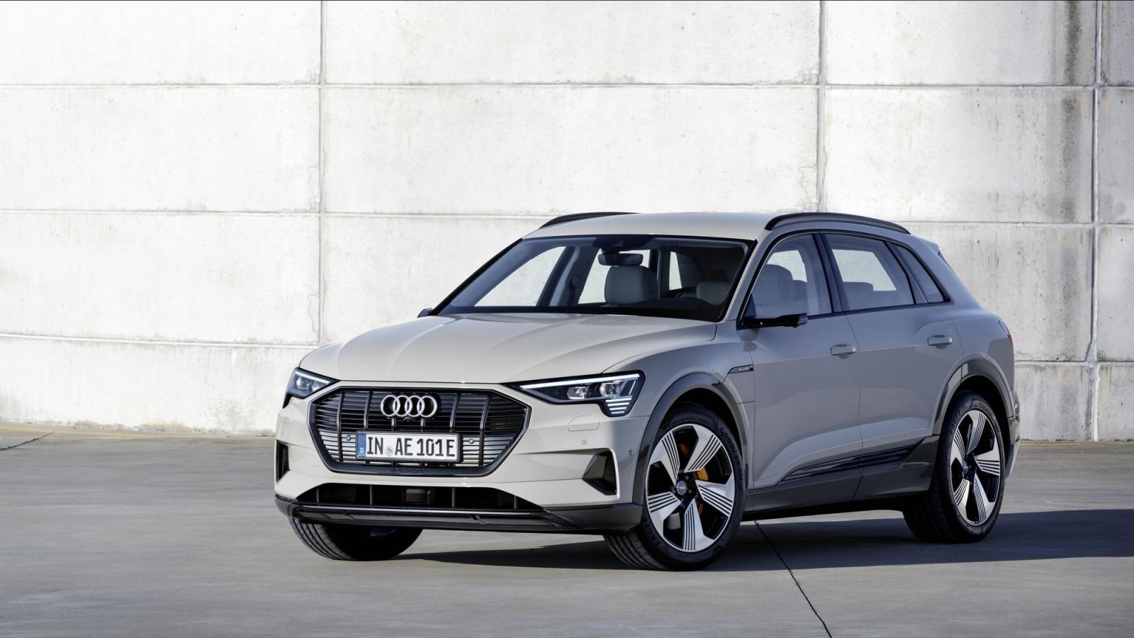 Audi e-tron là mẫu SUV điện được nhiều người săn đón kể từ lúc mới ra mắt