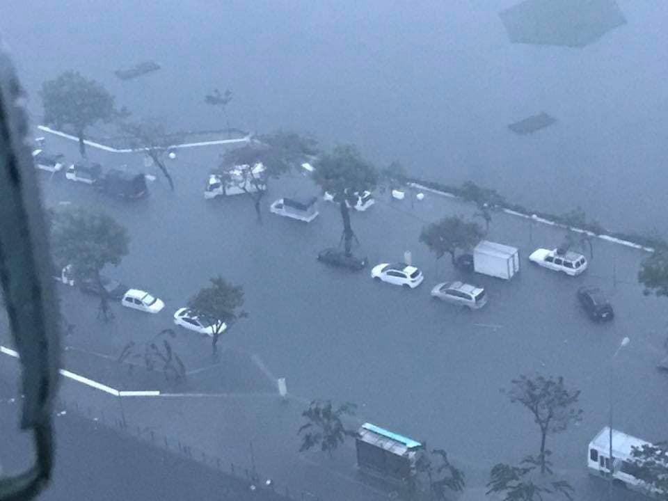 Chưa bao giờ thành phố Đà Nẵng bị ngập nặng như thế này