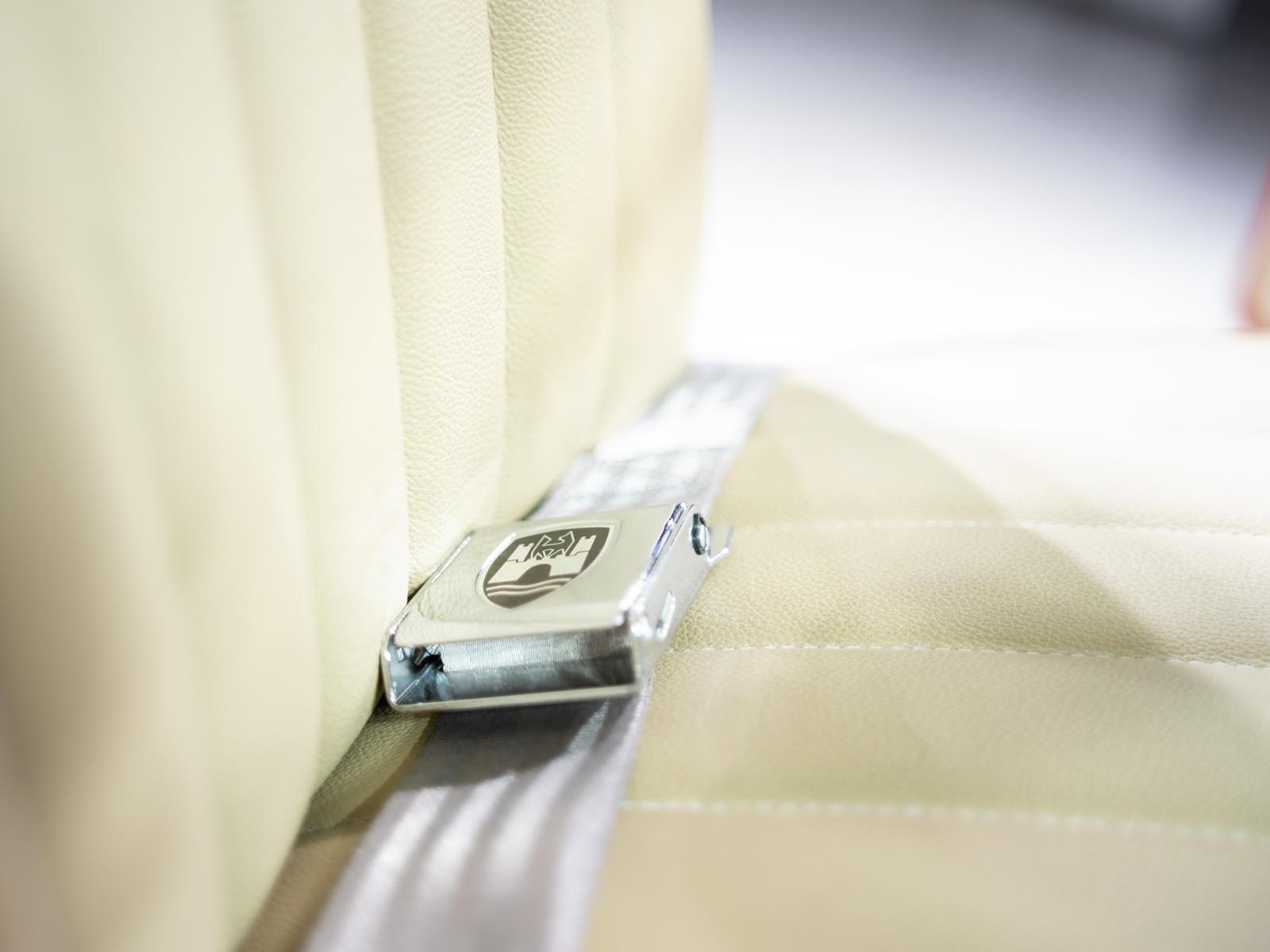 Dây an toàn mới của chiếc Volkswagen Beetle