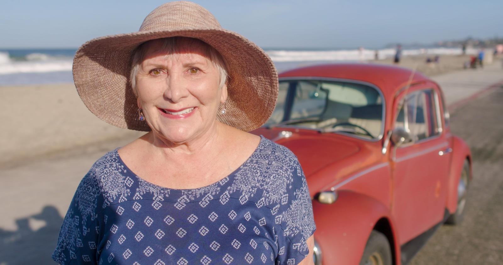 Bà Brooks, chủ nhân duy nhất của chiếc Volkswagen Beetle cổ