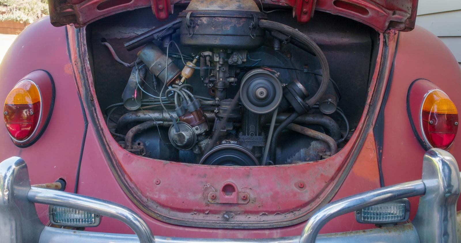 Động cơ nguyên bản của chiếc Volkswagen Beetle