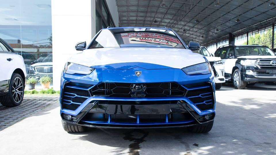 Lamborghini Urus đã có chiếc thứ 5 xuất hiện tại Campuchia