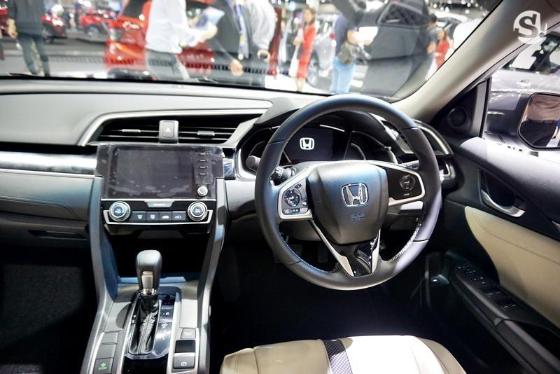 Nội thất bên trong Honda Civic 2019