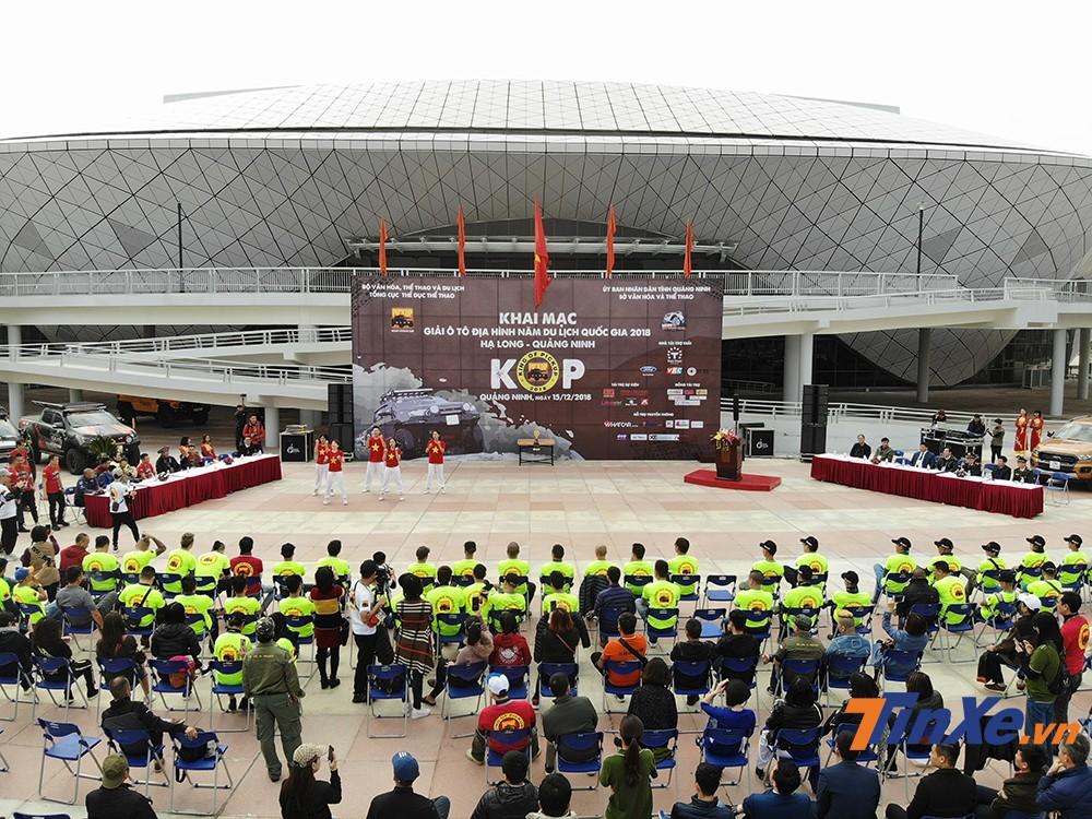 Toàn cảnh lễ khai mạc KOP2018.