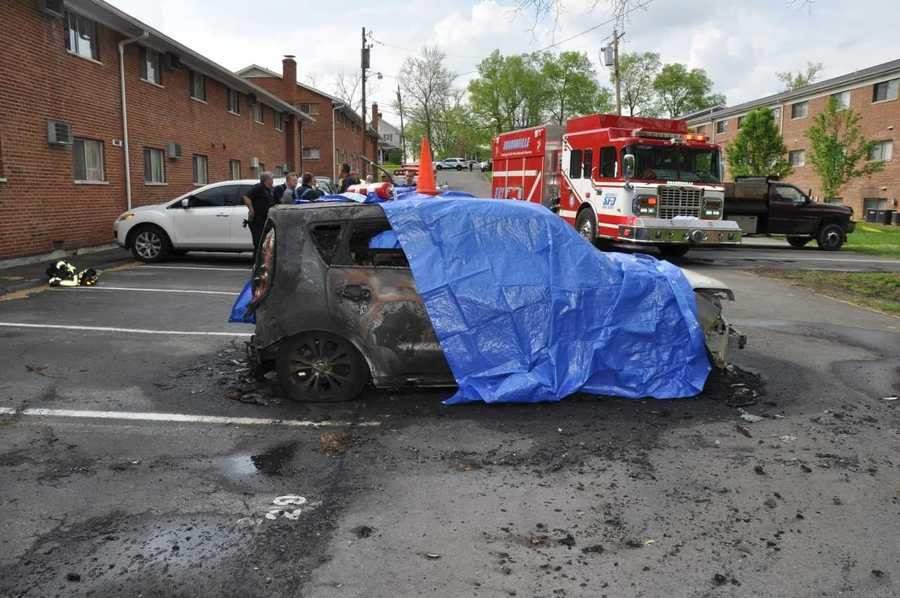 Một chiếc Kia Soul đời 2014 bốc cháy vào năm 2017 khiến một người đàn ông tử vong