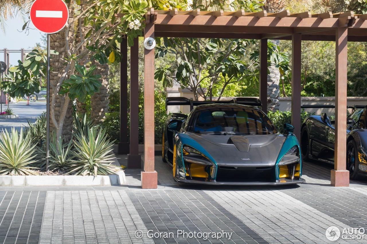 Siêu xe triệu đô McLaren Senna đa sắc màu của đại gia dầu mỏ Trung Đông