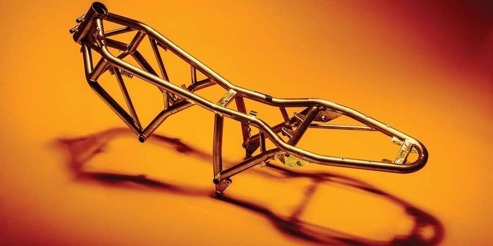Khung ống thép dạng lưới của Ducati