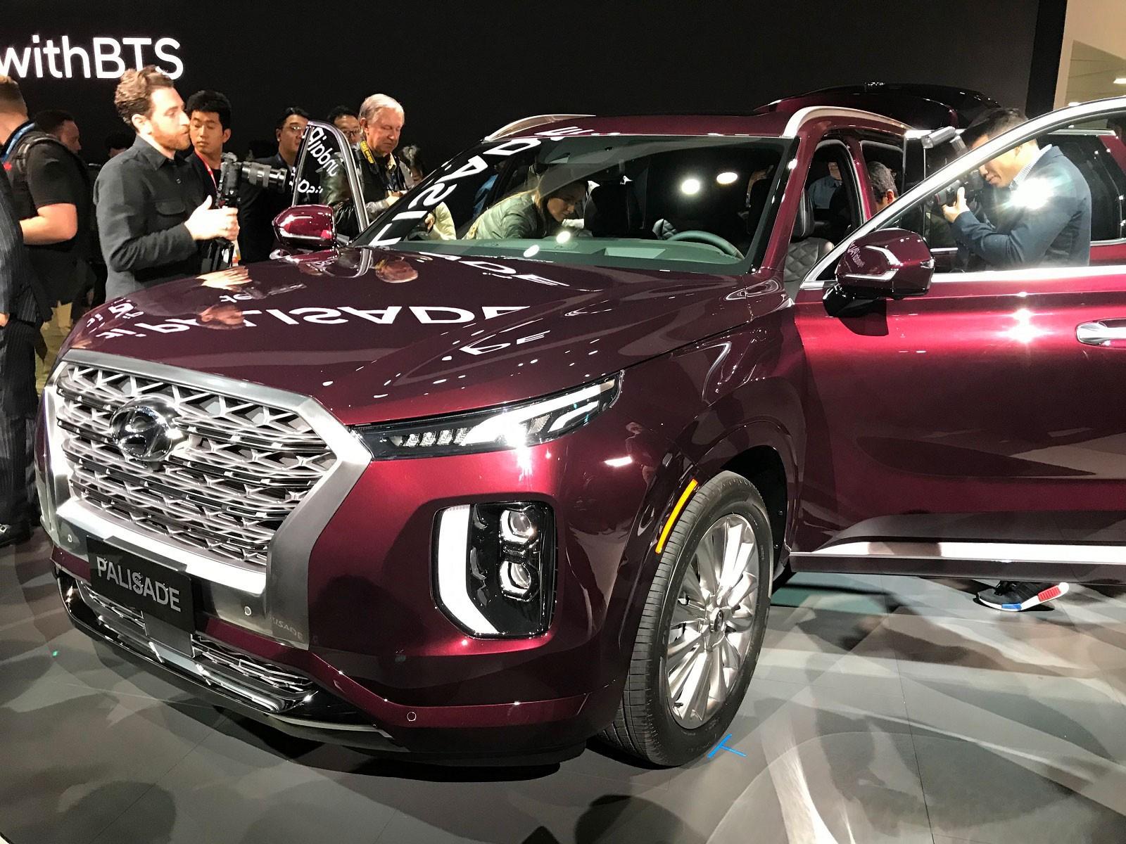 Hyundai Palisade 2020 chính thức ra mắt trong triển lãm Ô tô Los Angeles năm nay