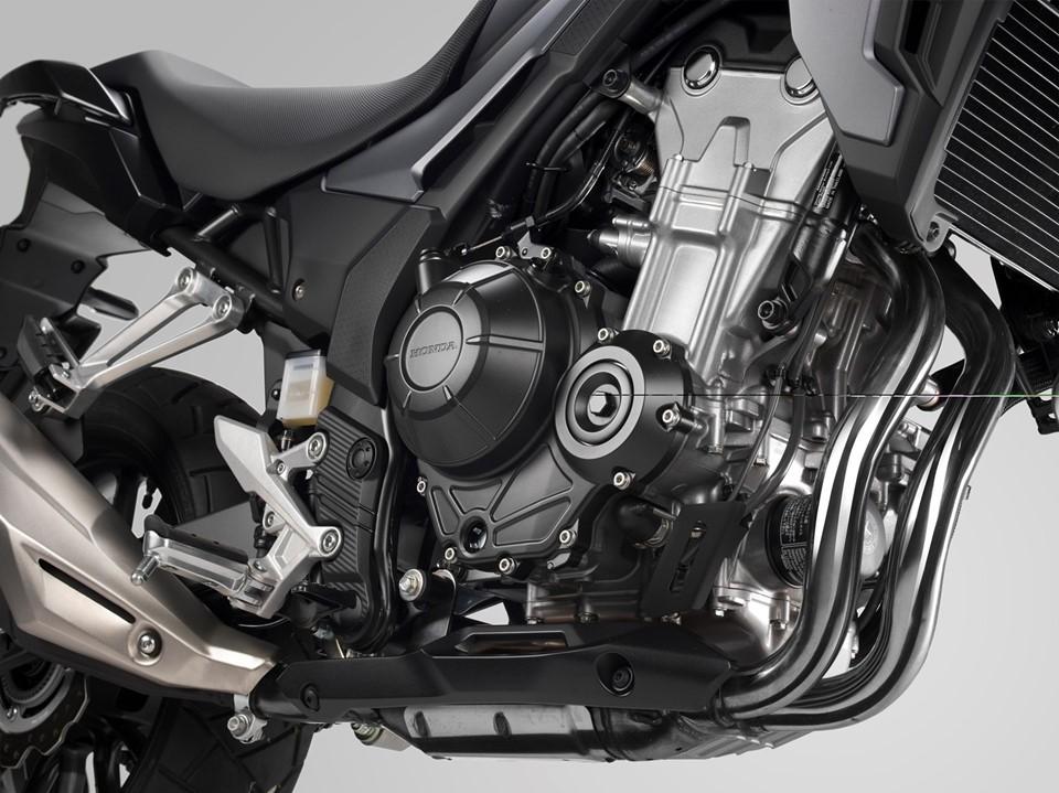 Khối động cơ 500 phân khối xy-lanh đôi nổi tiếng của Honda