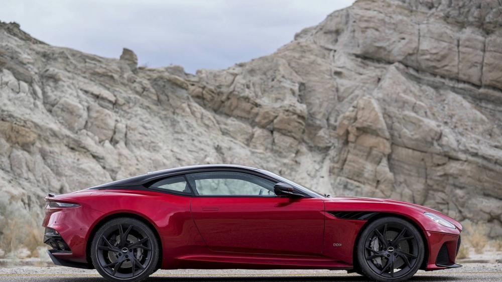 Aston Martin DBS Superleggera 2018 đi kèm bộ vành hợp kim 21 inch